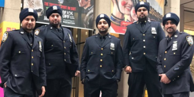 Sikh Police officers allowed to wear Turbans, New York  - PTC