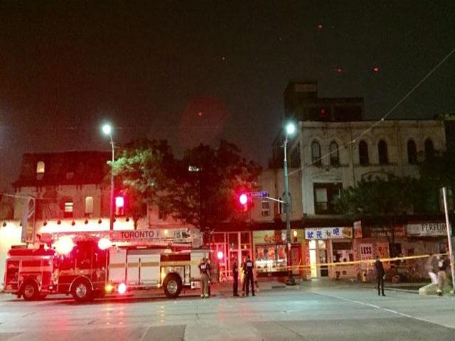Roof Collapse In Chinatown Displaces 20 Ptc Punjabi