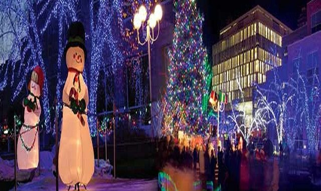 The Annual Christmas Tree Lighting event is the start of Br&tonu0027s Christmas season and begins with the lighting up of a 60-foot spruce tree with more than ... & Enjoy Annual Christmas Tree Lighting and Christmas Market in Brampton.