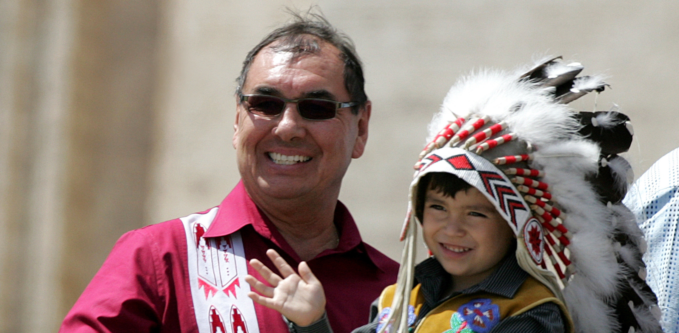 CANADIAN NATIVE PEOPLES GROUP ATTENDS GENERAL AUDIENCE AT ...