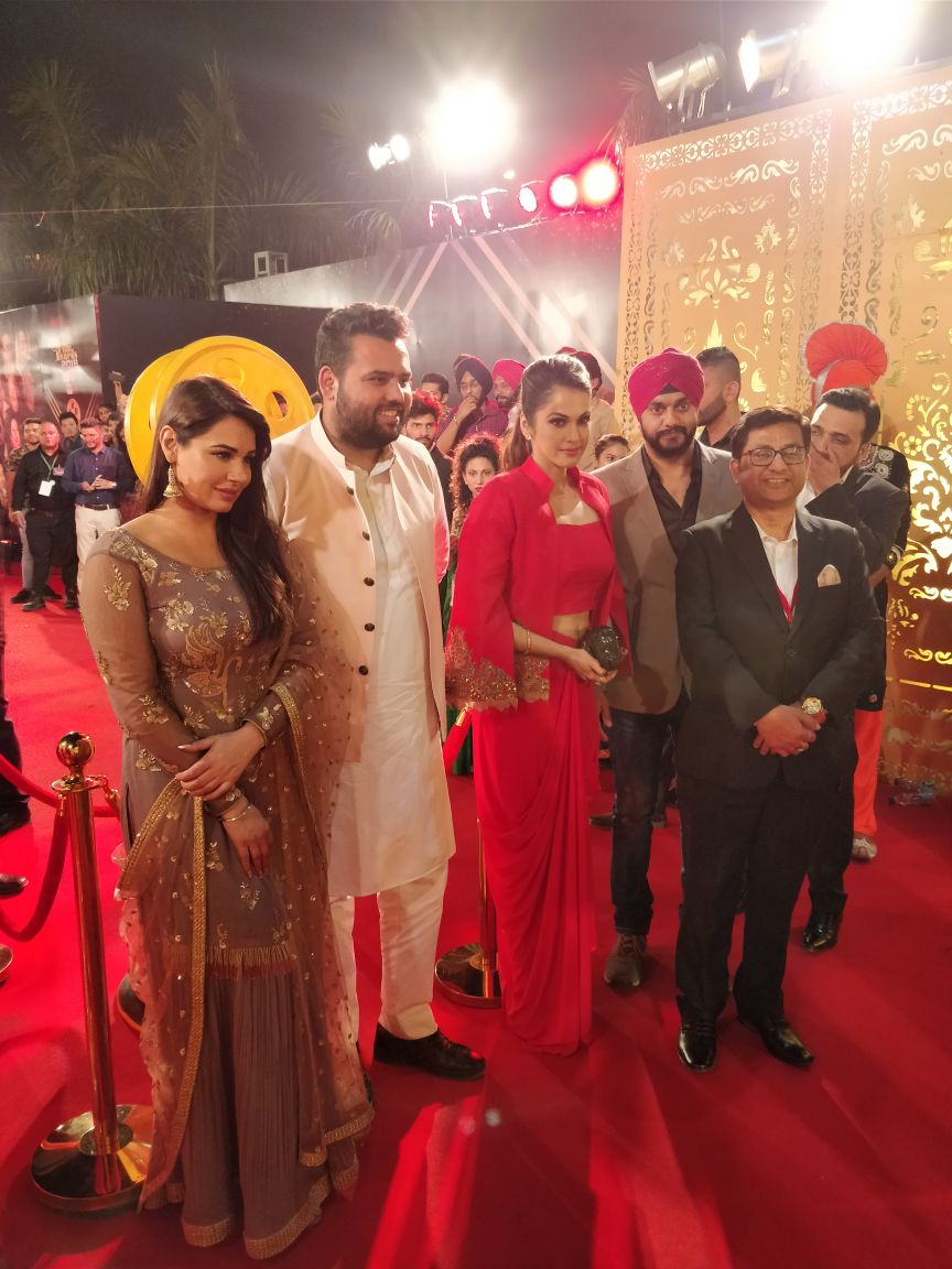 Red Carpet PTC Punjabi Film Award 2018 - PTC Punjabi Canada