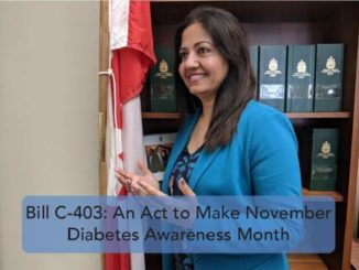 MP Sonia Sidhu introduce Bill C-403 to designate the month of November as Diabetes Awareness Month