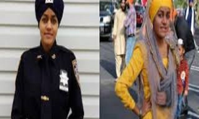 Gursoach Kaur is NYPD's first female turbaned Sikh auxiliary police officer