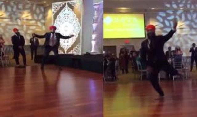 Minister Navdeep Bains and Federal NDP Leader Jagmeet Singh compete in dance off, aid raise funds