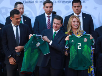 Mexico, US and Canada 'deeply united' by football: Pena Nieto on WC 2026 win