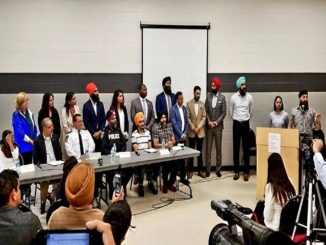 Peel Police attend Community Meeting discussing Youth Violence hosted by Ontario Gurdwara Com. and United Sikhs