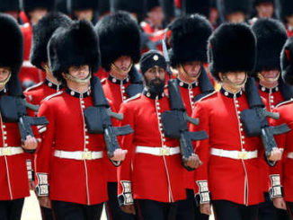 Sikh soldier becomes first to wear turban for Trooping the Colour parade in UK