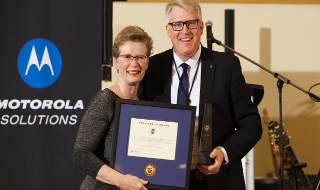 Peel Chief Awarded Highest Award from the Ontario Association of Chiefs of Police