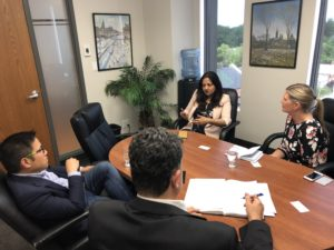 MP Sonia Sidhu encourage Brampton residents, students share their concerns