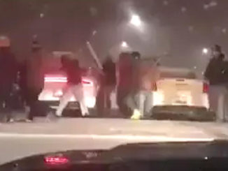 Another fight in Brampton Plaza / Brampton MPs on escalating violence