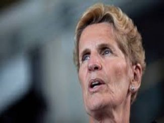 Admitting that Liberals won't win election, Wynne urges voters to still vote for the party