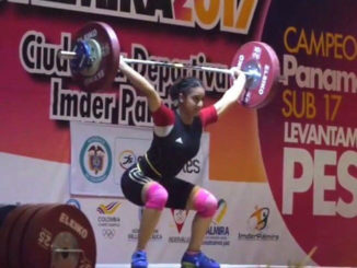 Jeenat Billen of Lions Weightlifting club