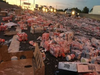 Highway 401 Yogurt Mess: Brampton Man faces careless driving charges