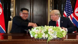 Trump-Kim commit to complete 'denuclearization'