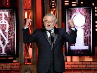 De Niro continued his criticism of Donald Trump in Toronto on Monday