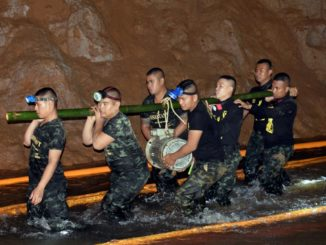 Thai boys trapped in cave found safe