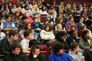 students at York University