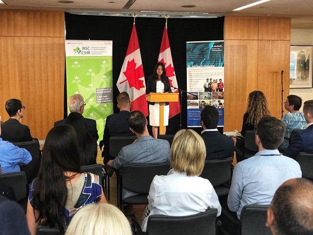 MP Sonia Sidhu announced funding of 9.3 Million promising new Health care Treatments