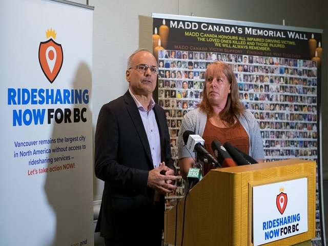 Coquitlam mayor, MADD Canada and BarWatch call for ridesharing approval to increase safety