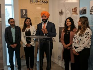 Minister Navdeep Bains announced funding for Sikh Heritage Museum
