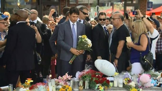 PM Trudeau to attend shooting memorial