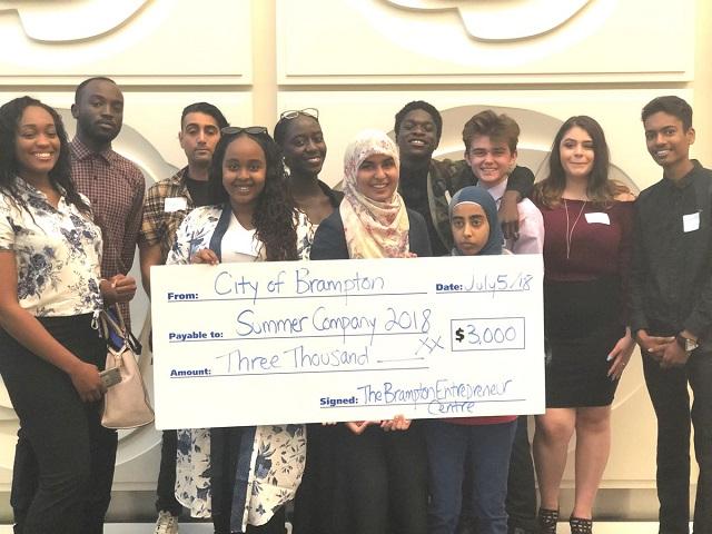 15 Brampton students launching Summer Companies