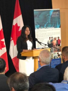 Sonia Sidhu, on Behalf of the Government of Canada