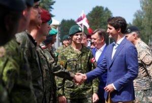 Canada extending mission in Latvia; adding more troops