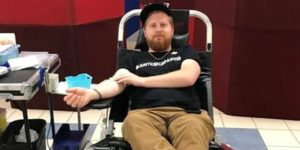 Blood donor clinic in memory of young murder victim