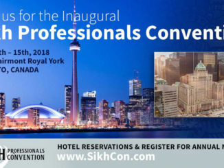 Inaugural Sikh Professionals Convention coming to Toronto