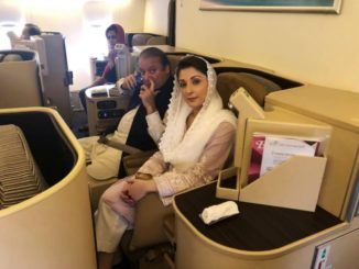 Sharif, daughter arrested in graft case, flown to Islamabad