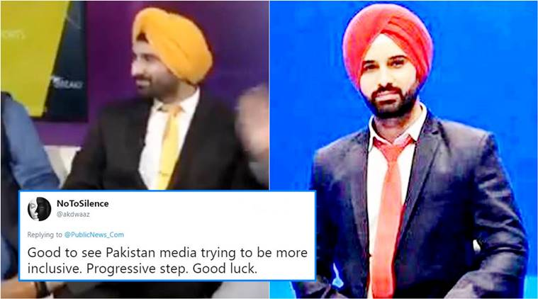 Meet Harmeet Singh, first Sikh male hired by Pakistani news