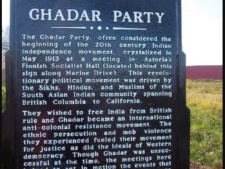 Ghadar Party's 105th anniversary celebrated in US