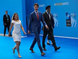 Justin Trudeau wraps up NATO summit in Brussels