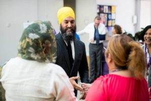 Jagmeet Singh may run for vacated Burnaby Seat