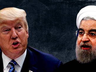 US President Donald Trump warns Iran's Hassan Rouhani against threatening Washington