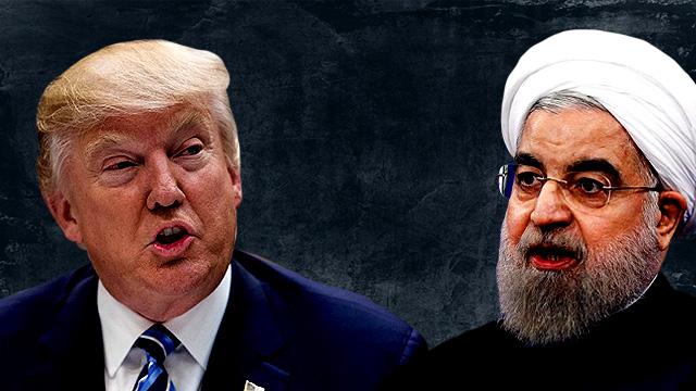 US President Donald Trump warns Iran's Hassan Rouhani against threatening Washington