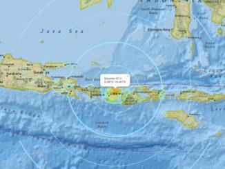 Magnitude 7 earthquake strikes Indonesia island, tsunami alert issued