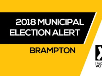 Information session for 2018 Brampton Municipal Election candidates