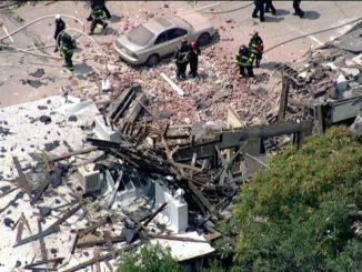 Gas explosion levels Denver apartment building, nine injured
