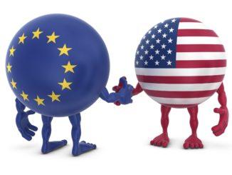 EU, US explore goods tariffs pact amid trade tensions