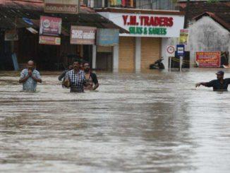 Rains ebb away, flood-hit Kerala got some respite