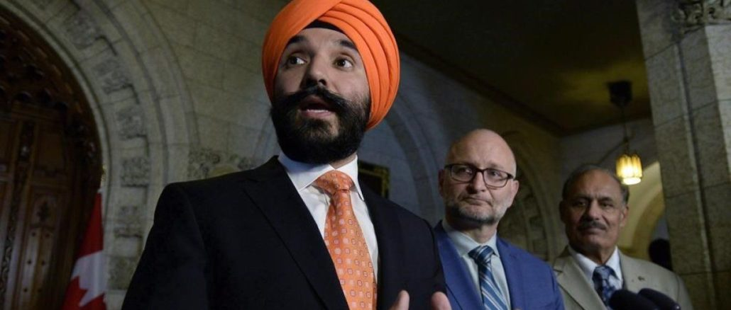 Navdeep Bains Says 'Nothing Off The Table' For Feds' Possible Response To Trump Tariff Threat