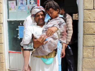 Saudi-led air strike on bus kills 29 children
