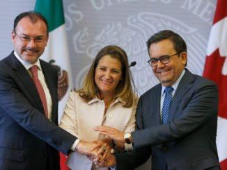 High level NAFTA preparation meetings set for Ottawa on Wednesday
