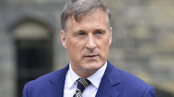 Maxime Bernier Accuses Prime Minister Of Pushing 'Radical Multiculturalism'