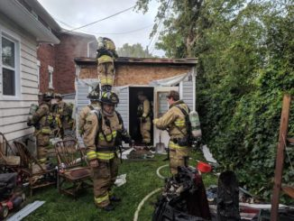 Ottawa firefighters quickly contain early-morning shed fire in east end