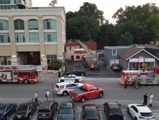 Restaurant Catches Fire in Brampton