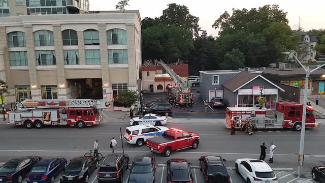Restaurant Catches Fire In Brampton Ptc Punjabi Canada
