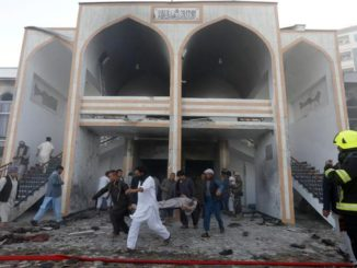 At least 20 killed in Afghan Shiite mosque attack